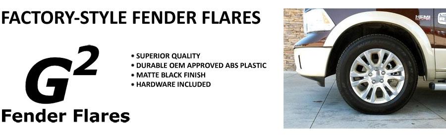 G2 Factory Fender Flares